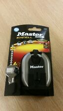 BRAND NEW MASTER LOCK EXCELL 60MM PADLOCK M187D WITH 4 KEYS WITH FREE POSTAGE