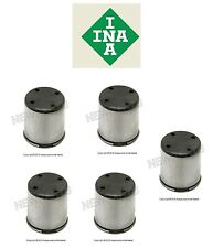 INA Set of 5 Fuel Pump Cam Followers For Audi Volkswagen 06D109309C NEW