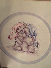 Festive Hugs Cross Stitch Chart