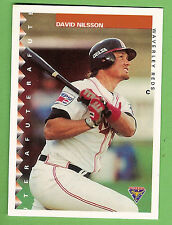1995 AUSTRALIAN BASEBALL CARD #15  DAVID NILSSON, WAVERLEY REDS