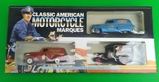 LIMITED ED INSCATOLATO Lledo Van Set-Classic American Motorcycle Marques MCL1003