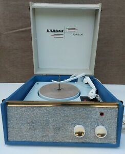Classic 60's Valve Autochanger Record Player - Fully Working