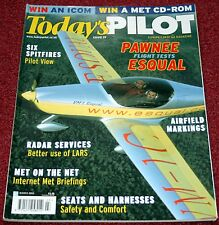 Todays Pilot 2003 March Esqual,Spitfire,Piper Pawnee,Enstrom