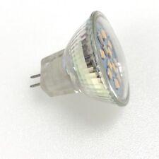 5 x 12v MR11 GU4 12v  2.4w LED Lamp Light Bulb Caravan Warm White 3000k