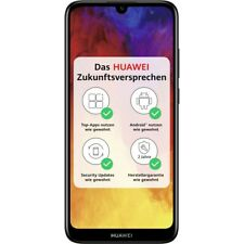 Huawei Y6 2019 32GB schwarz LTE/4G Android Smartphone Handy ohne Vertrag
