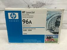 HP C4096A 96A Genuine Toner Cartridge New Sealed Expired