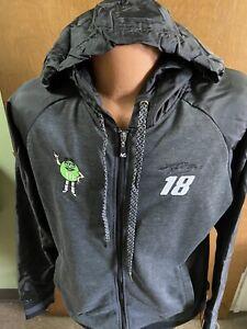 Kyle Busch #18 M & M'S Full Zip Light Weight Ladies Jacket 2012  Black XL