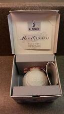 Retired Rare Lladro Porcelain 1996 Christmas Ball #16298 In Original Box
