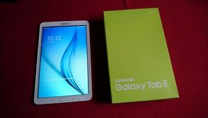 Samsung Galaxy Tablet E , 9,6 Zoll , Pearl White , SM-T560