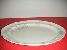 "Pfaltzgraff TEA ROSE Stoneware 14"" x 10"" Oval Meat Serving Plate / Platter (s)"