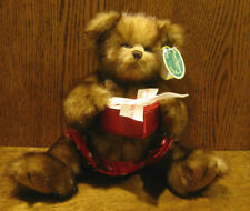 "Bearington Plush #1915 WILLIE FINDLOVE, 12"" Tall jointed, NEW/tags Valentines"