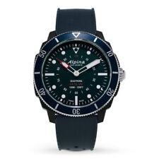 Alpina Seastrong Men's AL-282LNN4V6 Quartz Horological Blue Strap 44mm Watch