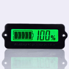 LCD 12V 24V 36V 48V Battery Status Always on Battery Percentage Displayed