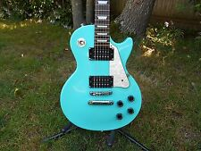 Epiphone by Gibson Limited Edition Les Paul Studio. Sea Foam Green. Rare Gig Bag