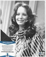 Jaclyn Smith Charlie's Angels Original Autographed 8X10 photo w/Beckett COA