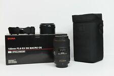 Sigma F2.8 EX DG Macro OS Nikon mount