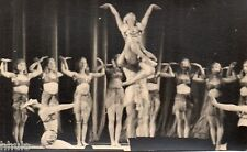 BD686 Carte Photo vintage card RPPC Femme woman ballet danse costume robe