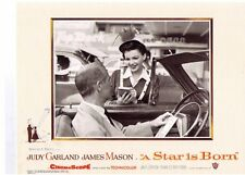 A STAR IS BORN 8 pages original US lobby card Judy Ggarand 1954.