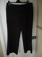 Señoras Pantalones Negros (talla 16) e-vie Colección. (Ideal para el trabajo)