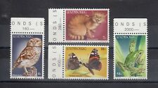 TIMBRE STAMP  4 LUXEMBOURG Y&T#1083-87 ANIMAL FAUNE NEUF**/MNH-MINT 1985 ~A59