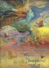 """NEW """"THE FANTASY WORLD OF JOSEPHINE WALL"""" BOOK - SOFTCOVER PAPERBACK"""