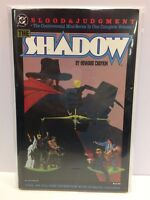 The Shadow Blood and Judgment TPB Graphic Novel DC 1987