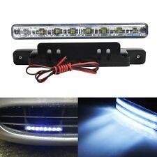 2 Stk 8 LEDs DRL Tagfahrlicht TFL Tagfahrleuchten Scheinwerf  Tagfahrlichter Neu