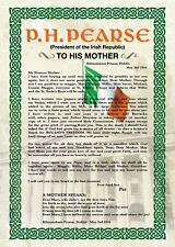 Exclusive A3 Poster - Patrick Pearse' Letter to his Mother, 3rd May, 1916