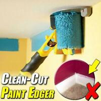 Clean-Cut Paint Edger Roller Brushes Safe Tools Portable for Home Wall Ceilings