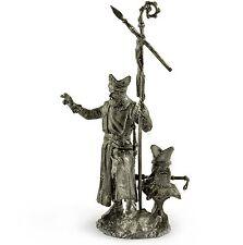 Crusaders. Bishop warrior 13Cent Tin toy soldiers 54mm miniature metal sculpture
