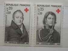 FRANCE 1964 Croix Rouge Fund set neuf sans charnière SG1665/6