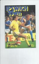 Ipswich Town Division 1 Home Teams F-K Football Programmes