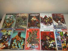 Marvel Comics TPB (Lot of 10) Trade Paperbacks  New / Unread Iron Man X-Men T7