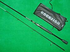 "VINTAGE FISHING - HTO ROCKFISH UL - 6' 11"" 0.5 - 7g 2 PIECE  SPINNING / LURE ROD"