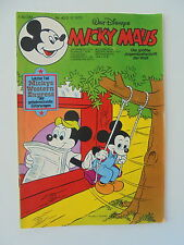 Micky Maus - Heft Nr. 40 von 1976 - Comic / Z. 1-2 (mit Beilage)