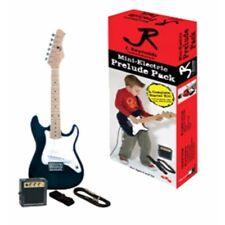 J Reynolds JRPKSTBL 1/2 Size Mini Strat Style Electric Guitar Pack w/ Amp, Blue
