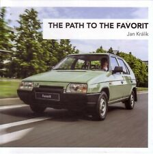Book - Skoda Favorit - English - The Path to the Favorit - History Prototypes