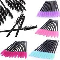 100PCS Disposable Mascara Wands Eyelash Brushes Lash Extension Applicator Kit
