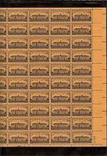 US MINT SHEET SCOTT#1083,3C STAMP NASSAU HALL, 200 YEARS SHEET OF 50 MNH OG