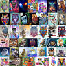 DIY Owl 5D Diamond Painting Embroidery Animal Cross Crafts Stitch Kit Decor Gift