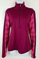 Moving Comfort Foxie 1/2 Zip Crimson Red Track Jacket Women's Size M NWT