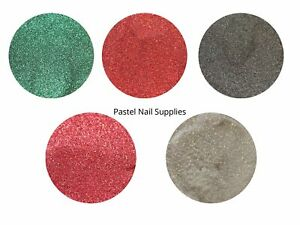 Red Fine Cosmetic High Grade Christmas Nail Art Body Party Glitter