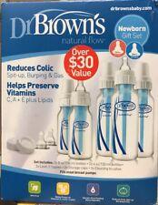 Dr. Brown's Natural Flow Original Baby Bottle Newborn Gift Feeding Set