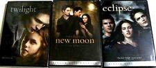 Twilight Trilogy New Moon, Eclipse 3 DVD Kristen Stewart, Robert Pattinson