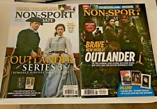2 Non-Sport Update Magazine Lot 2018/2020 Outlander Series 3 Season 4 Mint!