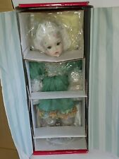 Marie Osmond Porcelain Tabatha Fairy Doll New In Box Never Been Removed from Box