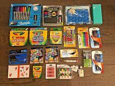 NEW Lot of School Office Supplies Pen Marker Pencil Highlighter Notebook 1118