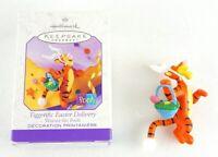 Hallmark Keepsake Ornament. Tiggerific Easter Delivery Winnie the Pooh 1999 Gift