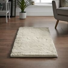 Faux Rabbit Skin Rugs,Sumptuously thick and ultra soft deep pile rug, 4 Colours
