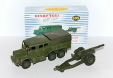 "DINKY TOYS 7.2"" Howitzer & Medium Tactor + High Quality Repro box 695 (689/692)"
